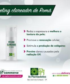 Peeling the romã
